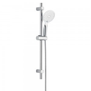 Iona. Set de douche complet chromé Ø25 mm · L 700 mm