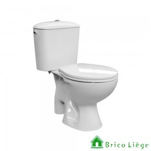 SOLUTION. Pack WC, porcelaine de qualité